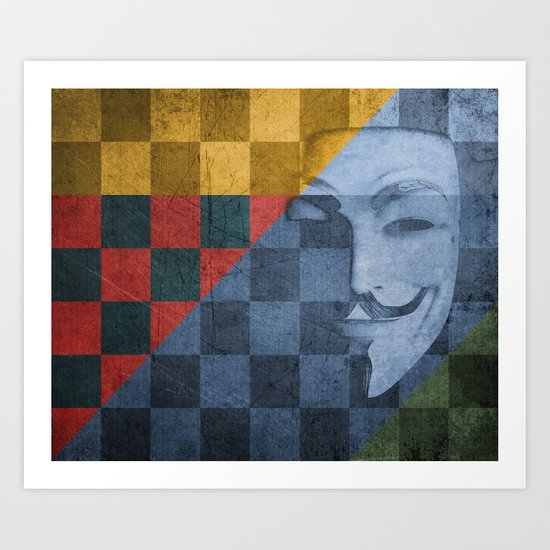Patchwork 2: The Quickening Reloaded Art Print