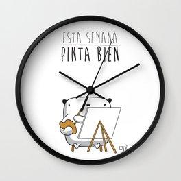 OPI PINTA BIEN Wall Clock