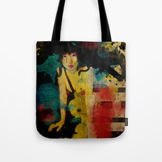 Visit Japan. Painterly Tourism Campaign Japanese style. Tote Bag