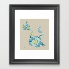 Tap Framed Art Print
