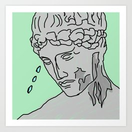 Greek Crier Art Print