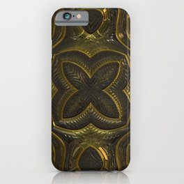 Old Metal Ornament iPhone Case
