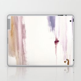 Sugar and Spice [2]: a minimal, pretty abstract piece in pinks, purple, mauve, and tan Laptop & iPad Skin