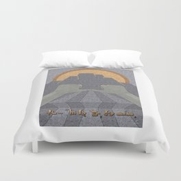 Perseverance - (Artifact Series) Duvet Cover