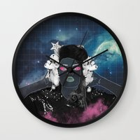 charli xcx Wall Clocks featuring CHARLI XCX by Lucas Eme A