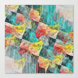 CMYKB3 Canvas Print