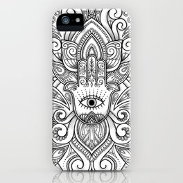 Protection, Power, Peace iPhone Case