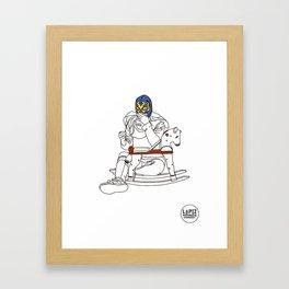 To Marina Framed Art Print