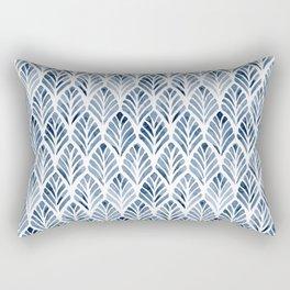 Indigo Forest Rectangular Pillow