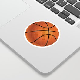 Basketball Ball Sticker