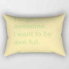 Awful Rectangular Pillow