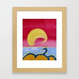 Bangburd Bay Framed Art Print