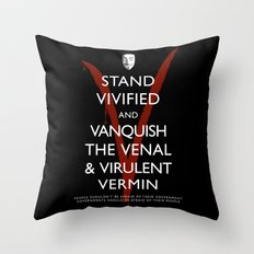 People Shouldn't Be Afraid Throw Pillow