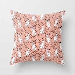 Dalmations by A. Talese Throw Pillow