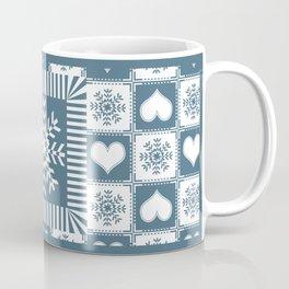 Winter Snowflake Christmas Pattern Coffee Mug