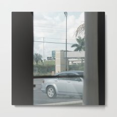 MOTEL view- MIAMI - by Jay Hops Metal Print