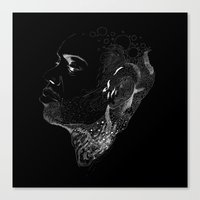 dave matthews Canvas Prints featuring Dave Chappelle by zkonqu