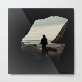 Sea Cave Metal Print