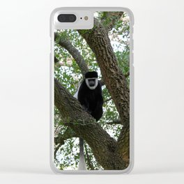 Monkeying Around 2 Clear iPhone Case
