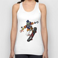 hook Tank Tops featuring Captain Hook  by Redwane