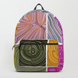 Electric Field Art Collage II Backpack