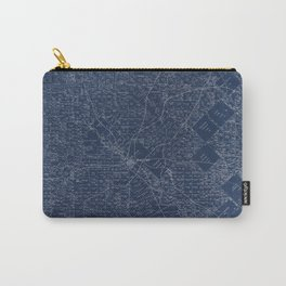 Map Of Dallas 1884 Carry-All Pouch