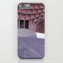 Modern art in Sevilla iPhone Case