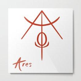 Ares Metal Print