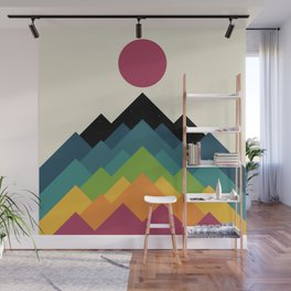 Life Is A Mountain Wall Mural