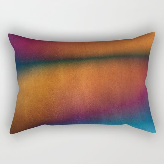 Walking By The Lake Rectangular Pillow