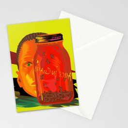 Alice in Chains - Jar of Flies  (Rock Album Cover) Stationery Cards
