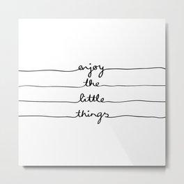 Little Things Metal Print