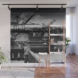 Focused Distraction Wall Mural