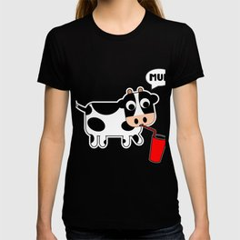 Cow Milk Drink Beef Meat Dairy Species Animal Gift T-shirt