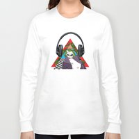 super heroes Long Sleeve T-shirts featuring super heroes by mark ashkenazi