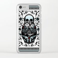 Russian Doll Clear iPhone Case