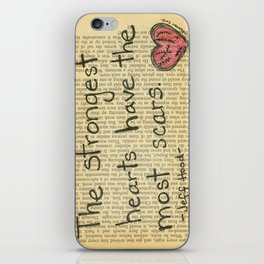 The Strongest Hearts iPhone Skin