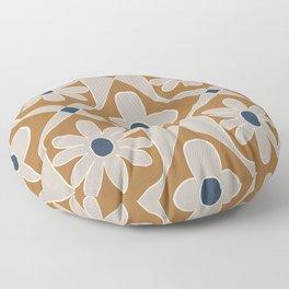 Bold Bohemian Tile Pattern  Floor Pillow