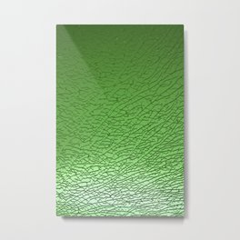 Green Crash II Metal Print