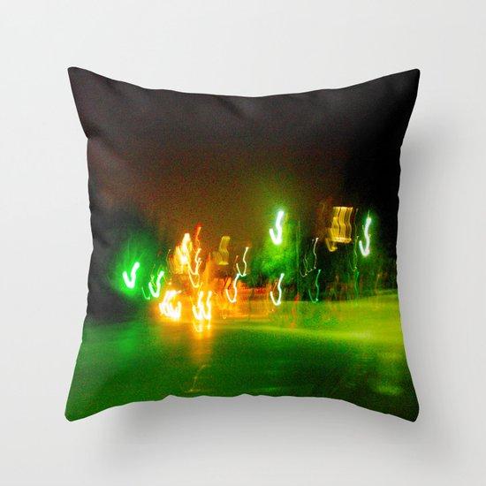 Austin Lights Throw Pillow