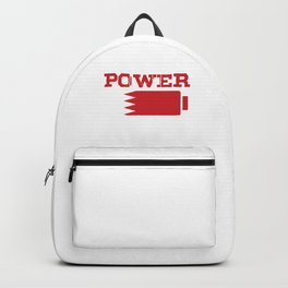 Patriotism Marama Bahrain Islam Arabic Country Middle East Gift Bahraini Power Backpack