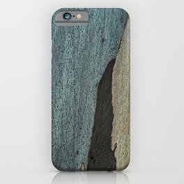 Eucalyptus Tree Bark and Wood Abstract Natural Texture 43 iPhone Case