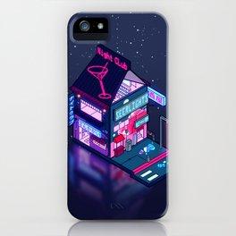 Cyberpunk Peach Drink iPhone Case