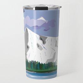 bob ross tribute Travel Mug
