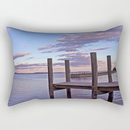 Pier Pink Rectangular Pillow