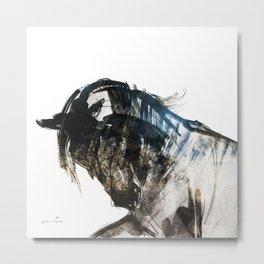 Horse (Gale) Metal Print