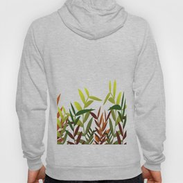 Colorful Leaves white - Illustration Hoody
