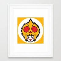 pagan Framed Art Prints featuring Pagan Mustard by Pagan Holladay