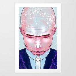 Sleepy head 02 Art Print