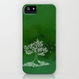 Wind Green  iPhone Case